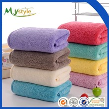 China supplier High Qaulity Terry microfiber Bath Towel with solid