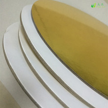paper manufacturer laminated paper gold/silver cakeboard
