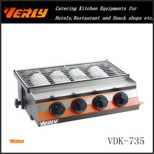 HOT SALE! Stainless Steel commercial bbq grill VDK-735