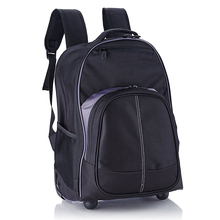 Compact Rolling Backpack for 13 15 17 inch computer laptop roller bag