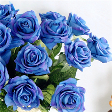 Kaleidoscope artificial blue rose plant