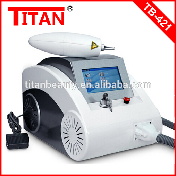 TB-421 For North America And Canada Skin Laser Acne Treatment Laser Beauty Machine / ND Yag Face Pore Removal Devices