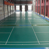 High Quality Standard PVC Sports Floor Indoor Vinyl Flooring Roll Used for basketball