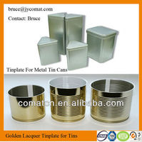 Gold White Lacqured Tinplate for Food Cans