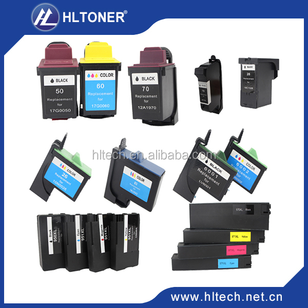 Remanufactured ink cartridge compatible for LX80(12A1980)