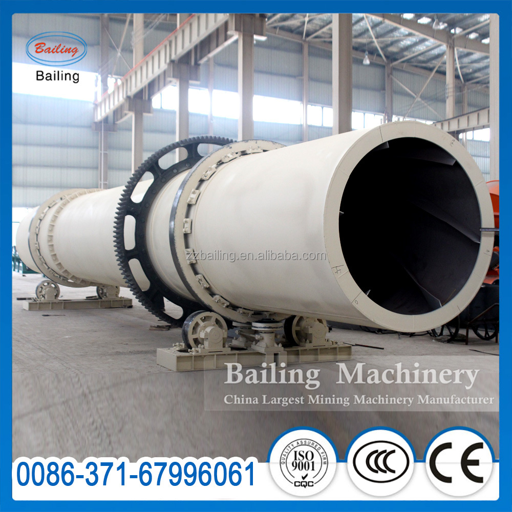 drum dryer for drying rocksand