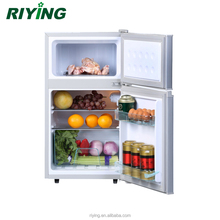 98L Double Solar DC Refrigerator Double Door and Top Freezer Fridge 12V 24V BCD-98