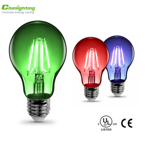 led bulb colorful light A60 A55 3.5w 5w red blue green purple color led filament bulb light bulb