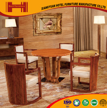 New Arrival chinese style pleasant design solid wood CQC CE modern coffee dining table chair set