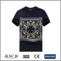 usa popular sale online woman black hand painted t-shirts