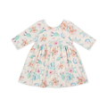 High Quality Cactus Prints Girls Casual Dress Raglan Sleeve Kids Summer Dress Child Dresses For Girls of 7 Years Old in China