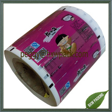 Plastic packing film roll,printed roll film packaging
