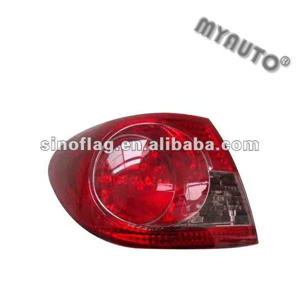 tail lamp/back lamp used for toyota corolla 2003
