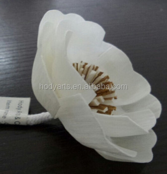 Hot Sale Sola Flower Aroma Diffuser with White and Dia.8.5cm