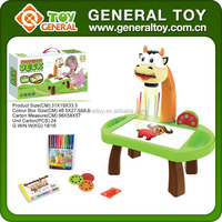 48.5*27.5*9.5cm Electronic Toy Learning Table Projector Toy