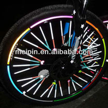 Reflective Bicycle/Motorcycle Wheel Sticker 8pcs per set