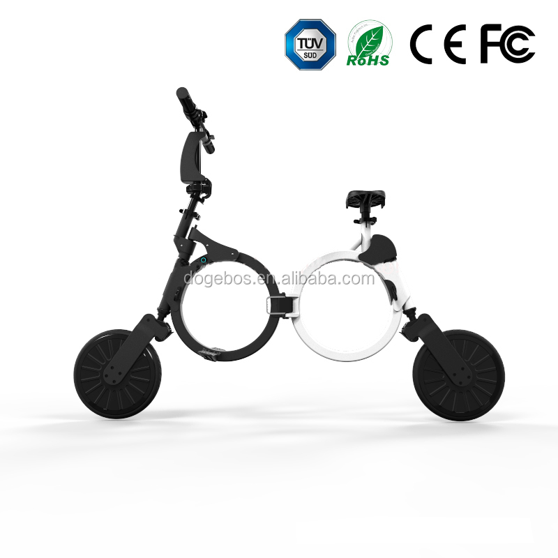 2016 new cheap folding bike popular city 2 wheels electric scooter