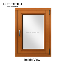 Good Quality Solid Wood Window Solid Timber Casement Window Factory Outlet