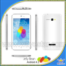 4.3 inch 512mb ram mtk 6572 dual core android cell phone with free case