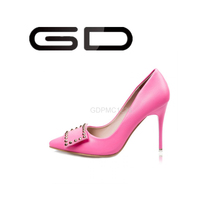 Europe style women high heel shoes ladies pointed toe beyond shoes fashion