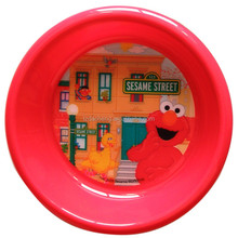 BPA Free Lenticular Printing Kids 3D Plate And Bowl