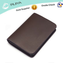 Genuine leather wallet business casual man wallet