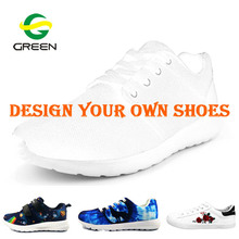 Greenshoe chinese footwear brands design your own shoes blank,custom print your own brand shoes