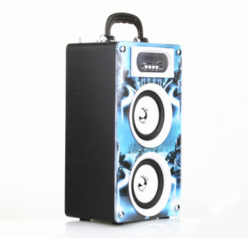 BBQ KBQ-162 20W 2000mAh New Products LED display flashing light fashion sound speaker