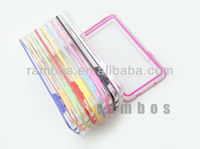 Colorful TPU Bumper Thin Clear Bumper Case Cover for Samsung Galaxy Note3 N9000