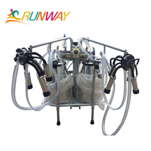 YZ-2 high quality cow milking machine with best price