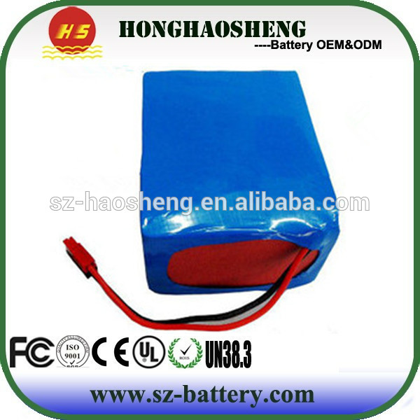 High Capacity Battery 18650 24V 50AH Lithium ion Battery Pack
