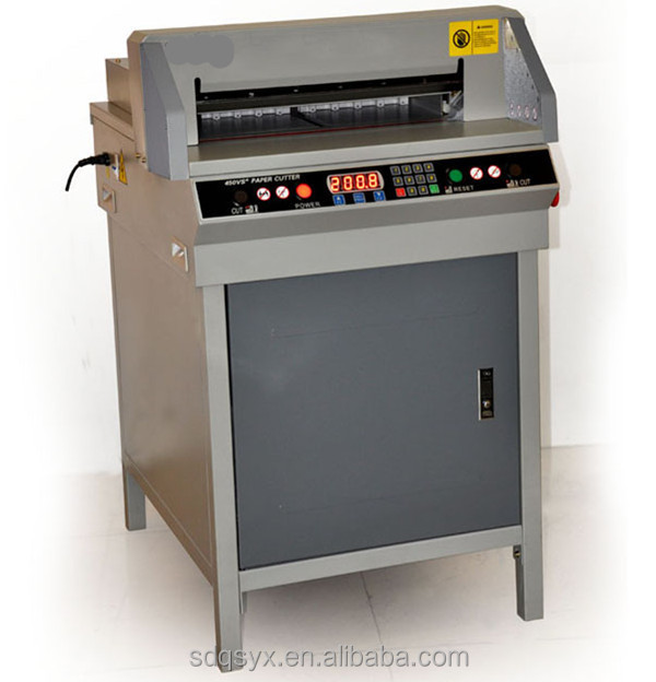 4806R electrical paper guillotine cutter, Programmable paper cutter machine