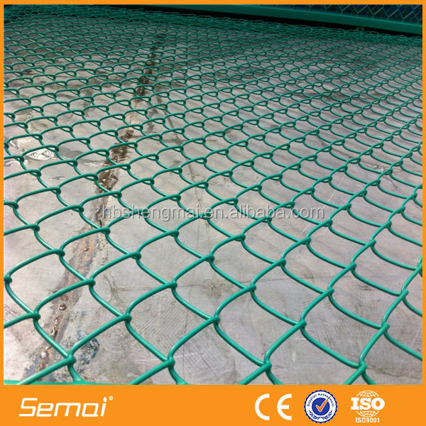 SEMAI PVC Coated Cyclone Wire Mesh Fence