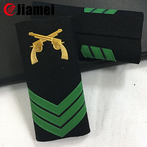 Good quality captain epaulette custom military uniform