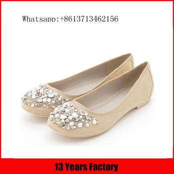 latest style lady shoes/new style italian shoes/ladies wholesale china flat shoe