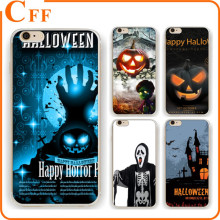 Halloween Gift Scary Pumpkin Skull Flying Witch Cell Phone Case For Samsung Galaxy S7 S6 S5 S4 S3 s7edge s6edge G925 Soft Cover