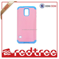 low price china mobile phone hybrid case for samsung galaxy s4 mini