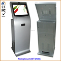 Touch self cash payment kiosk
