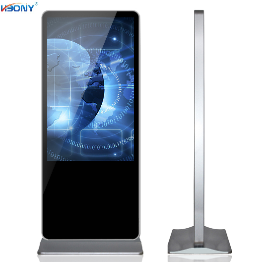 55 Inch indoor Floor stand digital signage /LCD advertising player