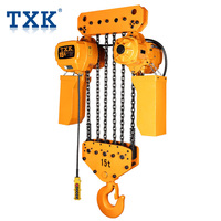 TXK manufacture 15 ton Electric Chain hoist with good quality