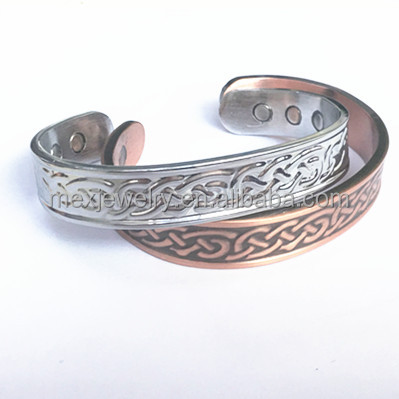 Pure Copper Magnetic Bracelet Arthritis for Men or Women