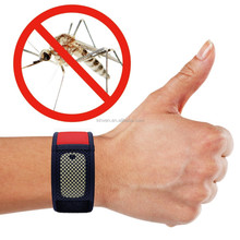 Anti mosquito bracelet with refill of natural ingredient and no deet in Ningbo