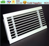 HVAC fixed type aluminium linear slot diffuser air grill