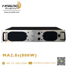 professional stereo class H high quality MA2.8s power amplifier pro audio amplifier cheap sale by RYS AUDIO
