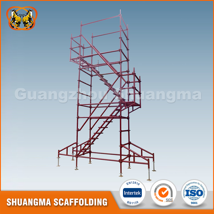 Construction Modular Scaffolding Manufactured Under European Homologation