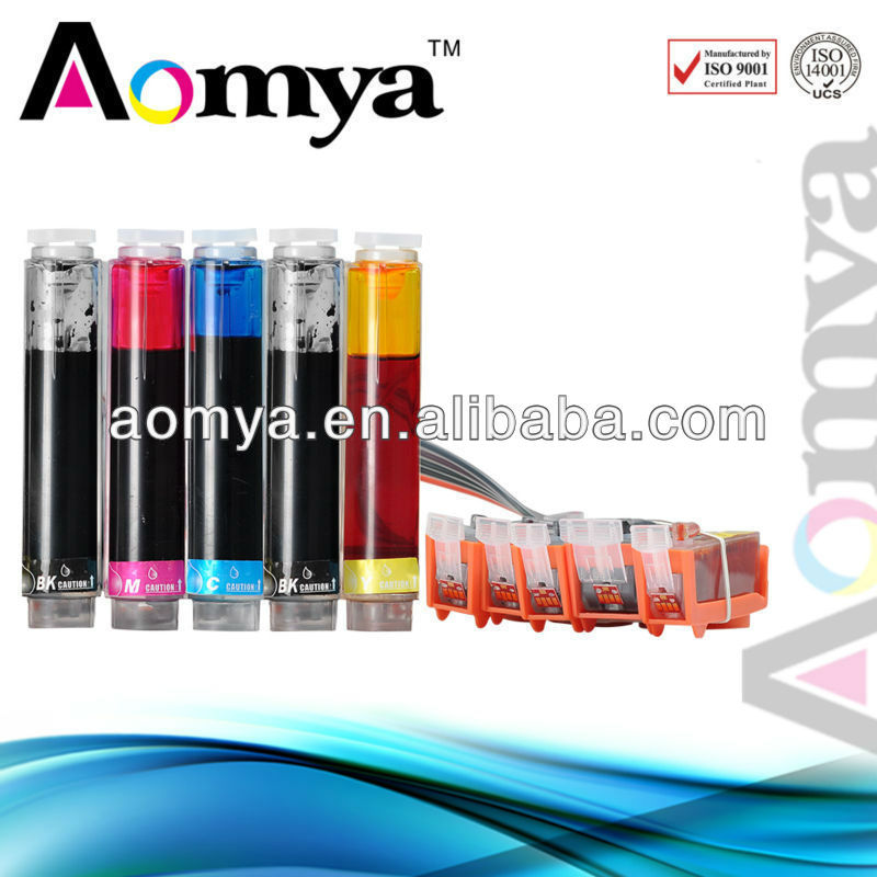Continuous Ink Supply System for Canon PGI-425/CLI-426 suitable for PIXMA iP 4840 MG5140 MG5240 MG5340 iX6540 MX884 printer
