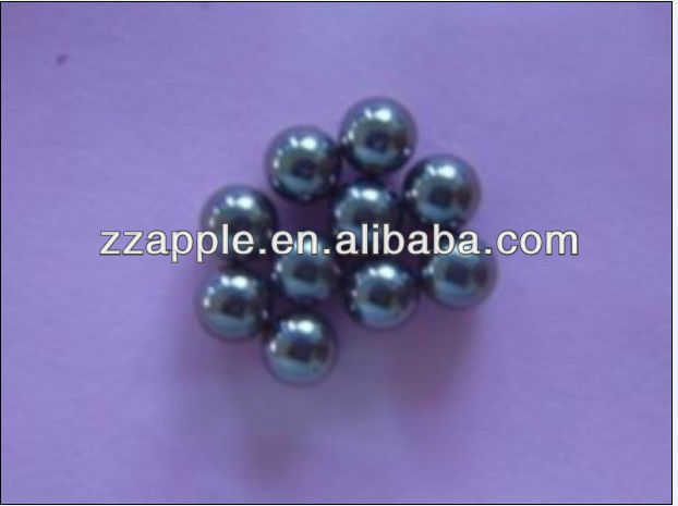 Polished tungsten carbide ball bearing