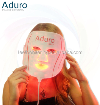 comfortable 7 colors light therapy led facial mask / photon skin care mask