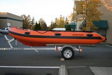 420 SEAMOR MARINE RIGID INFLATABLE BOAT