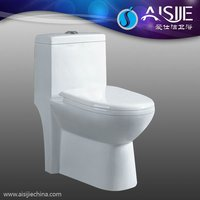 Hot Design Bathrooms Accessories Ceramic Mobile Toilet Savingwater One Piece Toilet A3105